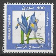 YT 1098 (o) - Iris Xiphium - Tunisie (1956-...)