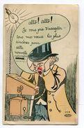 CPA Illustrateur :  Humour  Allo Pour Les Voeux A  VOIR  !!!!!!! - Illustratori & Fotografie