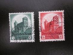 Deutsches Reich Nr. 546 / 547 Gestempelt (B41) 2 - Allemagne