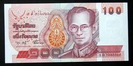 Thailand Banknote 100 Baht Series 14 P#97 SIGN#75 UNC - Thailand