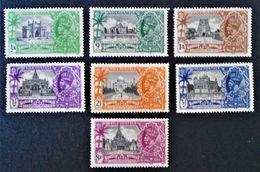 JUBILE DE GEORGE V 1935 - NEUFS * - YT 136/42 - MI 138/44 - 1911-35 Roi Georges V