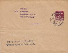 Denmark Postal Stationery Ganzsache Entier Bande Journal Streifband Wrapper KØBENHAVN Omk. 194? CHARLOTTENLUND (2 Scans) - Ganzsachen