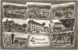 Z3279 Lorrach Im Wiesental / Viaggiata 1958 - Loerrach