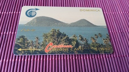 2 Phonecard Dominica Demo Card Without Control Number Rare - Dominica
