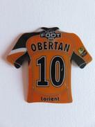 Magnet - Just Foot 2009 - Obertan - Maillot N° 10 - Lorient - Sports