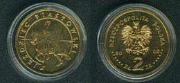 Polen 2 Zlote 2006; Ritter Der Piasten Schön 604 Unzirkuliert D1-228 - Pologne