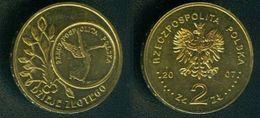 Polen 2 Zlote 2007; 80 Jahre Währungsreform Schön 628 Unzirkuliert D1-229 - Pologne