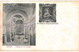 CPA N°3183 - RIMINI CHIESA DI S. CHIARA - R. MATER, MISERICORDIAE - Rimini
