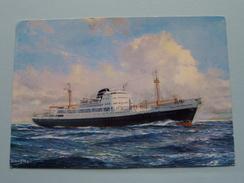 """MS """" Prins Der Nederlanden """" KNSM - Anno 19?? ( Zie Foto Details ) ! - Passagiersschepen"""