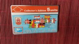 Phonecard Gibraltar 308 A (Mint,Neuve) Rare - Gibraltar