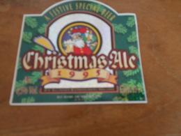 BIERETIKET WHITE CHRISTMAS 1995 - Beer