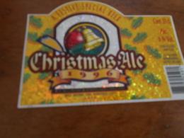 BIERETIKET WHITE CHRISTMAS 1996 - Beer