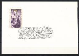 ÖSTERREICH  - Mi. Nr. 1503   CHRISTKINDL Weihnachten   1976 + Ganzsachen Postkarte - Weihnachten