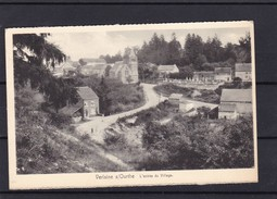 Verlaine / Ourthe  Entree Du Village  ( Cafe Sepul Pension De Famille ) - Verlaine