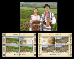 Moldova 2012 Mih. 793/94 Europa-Cept. Visit (booklet) MNH ** - Moldova