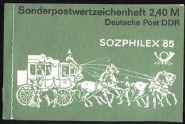 DDR Markenheftchen 8 Postfrisch #1 D1-307 - [6] Democratic Republic