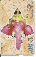 éléphant Elephant Animal Télécarte Phonecard Karte (S.381) - Thaïlande