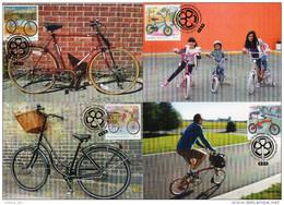 Greece 2014 > Mi .....> The Bicycle > Set Of 4 Maximum Cards - Maximum Cards & Covers