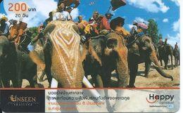 éléphant Elephant  Animal Télécarte Phonecard Karte (S.383) - Thaïlande