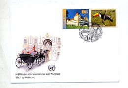 Lettre Cachet Wien Foire Senoir Sur Oiseau Graz - Covers & Documents