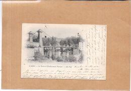 CAMBO LES BAINS - 64 - CPA DOS SIMPLE - Le Pont De L'Etablissement Thermal  - ENCH - - Cambo-les-Bains