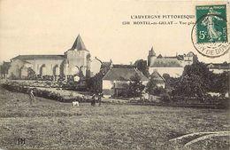 - Puy De Dome -ref-902- Montel De Gelat - Vue Generale - Carte Bon Etat - - Autres Communes