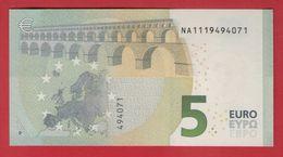 5 EURO AUSTRIA AUTRICHE - N014 A1 - DRAGHI  NA1119494071 - UNC - NEUF - FDS - EURO