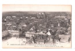 CPA Chalons Sur Marne No.2 LL LOUIS LEVY PANORAMA VERS LA CATHEDRALE - Châlons-sur-Marne