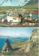 FAROE ISLANDS Nolsoy Pier 2 Cards - Faroe Islands