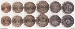 MACEDONIA  Set Of 6 Coins ( 50 Deni - 1 - 2 - 5 - 10 - 50 Denari ) 1993 - 2016 UNC - Macédoine