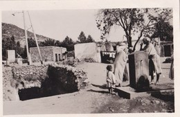 Cartes Postales Photo :Immouzer (Maroc)  4 Cartes Du Village : Troglodytes, Lac Daiet Aoua, Piscine,, Vue ...ed La Cigog - Maroc