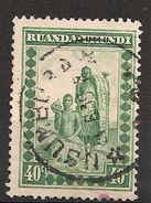 CONGO RUANDA URUNDI 95 USUMBURA - 1924-44: Oblitérés