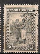 CONGO RUANDA URUNDI 98 KITEGA - 1924-44: Gebraucht
