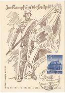 Propagandakarte Tag Der Briefmarke 1941 - Germania