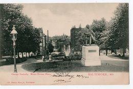 1 - BALTIMORE  -  George Peabody, Mount Vernon Place - Baltimore