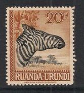 CONGO RUANDA URUNDI 145 NSCH MNH ** - Ruanda-Urundi