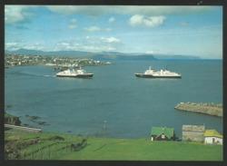 FAROE ISLANDS SMIRIL OG TEISTIN The Two Modern Faroese Carferries Autofähren - Faroe Islands
