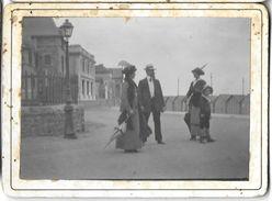 CDV PHOTOGRAPHIE LE CROISIC  AOÛT 1913 BÂTIMENTS - Lieux