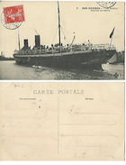 Divers - Bateau - Nos Navires - La Savoie Rentrant Au Havre  (avi) - Dampfer