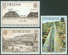 St. Helena 1979, Anniversary Of Inclined Plane Mi.# 321-323, MNH / ** - St. Helena