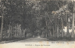 Douala (Cameroun) - Avenue De Koumassi - Cliché Goethe George - Cameroun