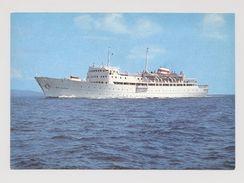 STEAMER MS MOLDAVIA Soviet Passenger Liner Ship MS ALESSIA - Piroscafi