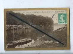 CPA  -  Levallois Perret - Bords De La Seine - Ile De La Jatte - Levallois Perret