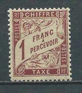 FRANCE 1893 . Taxe N° 40  Neuf *  (MH) - 1859-1955 Nuovi