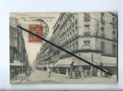 CPA  Abîmée - 3937 -   Levallois Perret - Rue De Courcelles - Levallois Perret