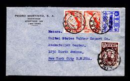 Perú Tourisme (red Carreteras) Big Mountains Archeology Lima 1941 Cover 2x Sp4488 - Other