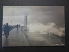 76 - Le Havre  - CPA - Jetée Nord - Effet De Tempête  - 1907 - A.M. Noël Le Havre  - BE - N°1 - - Port