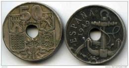 Espagne Spain 50 Centimos 1949 *53 KM 777 - [ 5] 1949-… : Royaume