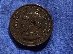 Belle Medaille Satirique - Variétés Et Curiosités
