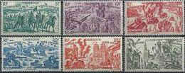 Cameroun N° PA  32 à 37 ** Avions - Tchad Au Rhin - Cameroun (1915-1959)